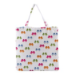 Pattern Birds Cute Design Nature Grocery Tote Bag