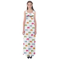 Pattern Birds Cute Design Nature Empire Waist Maxi Dress