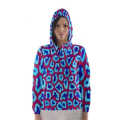 Animal Tissue Hooded Wind Breaker (women)
