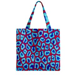 Animal Tissue Zipper Grocery Tote Bag
