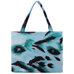 Animal Cruelty Pattern Mini Tote Bag