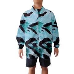 Animal Cruelty Pattern Wind Breaker (Kids)