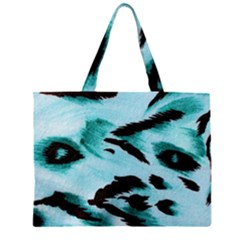 Animal Cruelty Pattern Large Tote Bag