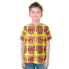 Funny Faces Kids  Cotton Tee