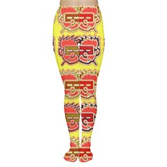Funny Faces Women s Tights