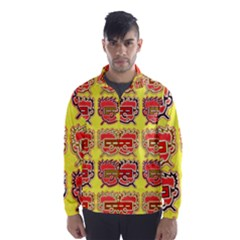 Funny Faces Wind Breaker (men)
