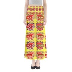 Funny Faces Maxi Skirts