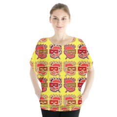 Funny Faces Blouse