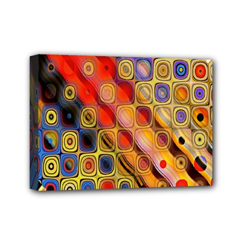 Background Texture Pattern Mini Canvas 7  X 5