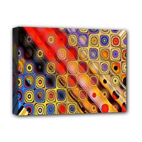 Background Texture Pattern Deluxe Canvas 16  X 12