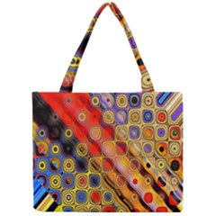 Background Texture Pattern Mini Tote Bag
