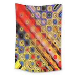 Background Texture Pattern Large Tapestry