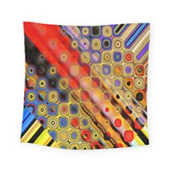 Background Texture Pattern Square Tapestry (small)