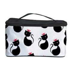 Cat Seamless Animal Pattern Cosmetic Storage Case