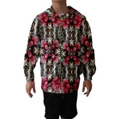 Flowers Fabric Hooded Wind Breaker (kids)