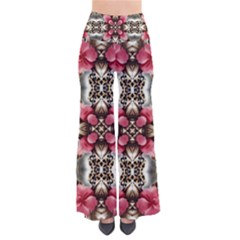 Flowers Fabric Pants