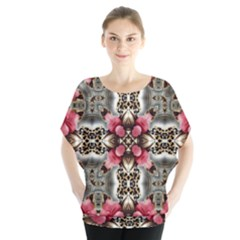 Flowers Fabric Blouse
