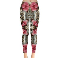 Flowers Fabric Leggings
