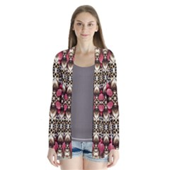 Flowers Fabric Cardigans