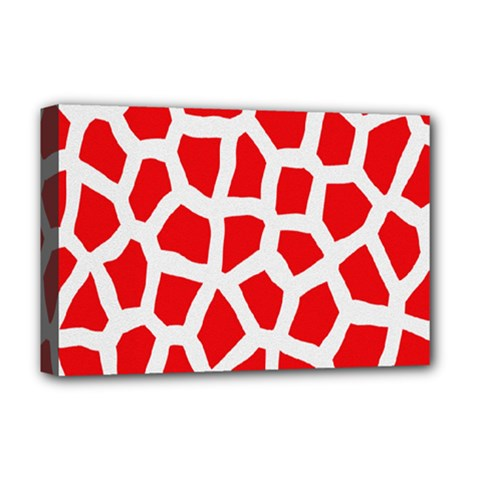 Animal Animalistic Pattern Deluxe Canvas 18  X 12