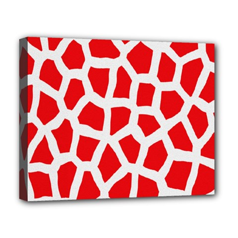Animal Animalistic Pattern Deluxe Canvas 20  X 16