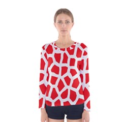Animal Animalistic Pattern Women s Long Sleeve Tee