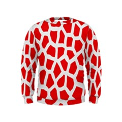 Animal Animalistic Pattern Kids  Sweatshirt