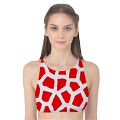 Animal Animalistic Pattern Tank Bikini Top