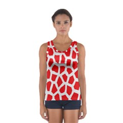 Animal Animalistic Pattern Women s Sport Tank Top