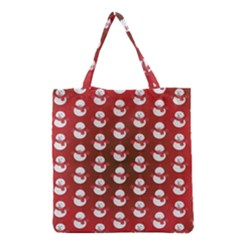 Card Cartoon Christmas Cold Grocery Tote Bag