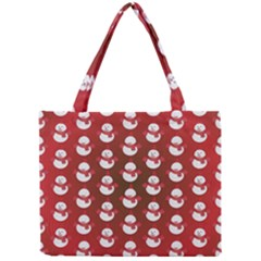 Card Cartoon Christmas Cold Mini Tote Bag