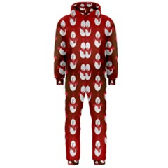Card Cartoon Christmas Cold Hooded Jumpsuit (men)
