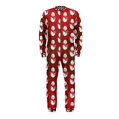 Card Cartoon Christmas Cold OnePiece Jumpsuit (Kids)