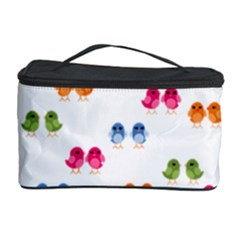 Pattern Birds Cute Design Nature Cosmetic Storage Case