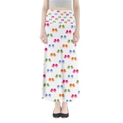 Pattern Birds Cute Design Nature Maxi Skirts