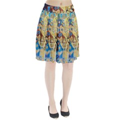 Background Structure Absstrakt Color Texture Pleated Skirt