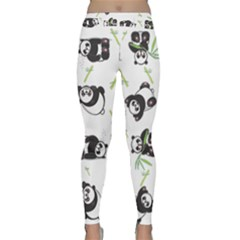 Panda Tile Cute Pattern Classic Yoga Leggings