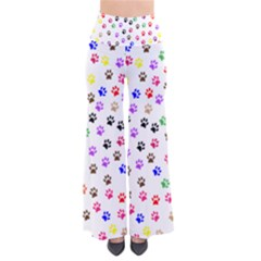 Paw Prints Background Pants