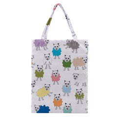 Sheep Cartoon Colorful Classic Tote Bag