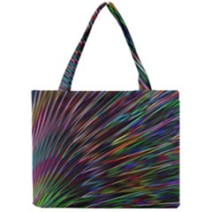 Texture Colorful Abstract Pattern Mini Tote Bag