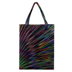 Texture Colorful Abstract Pattern Classic Tote Bag