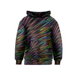 Texture Colorful Abstract Pattern Kids  Pullover Hoodie