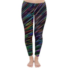 Texture Colorful Abstract Pattern Classic Winter Leggings