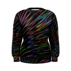 Texture Colorful Abstract Pattern Women s Sweatshirt
