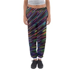 Texture Colorful Abstract Pattern Women s Jogger Sweatpants
