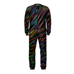 Texture Colorful Abstract Pattern Onepiece Jumpsuit (kids)