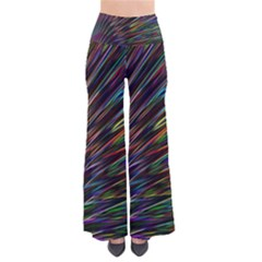 Texture Colorful Abstract Pattern Pants