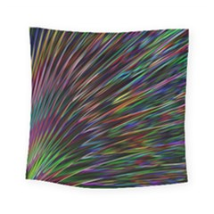 Texture Colorful Abstract Pattern Square Tapestry (small)