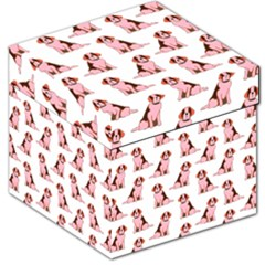 Dog Animal Pattern Storage Stool 12