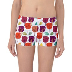 Tree Pattern Background Reversible Bikini Bottoms